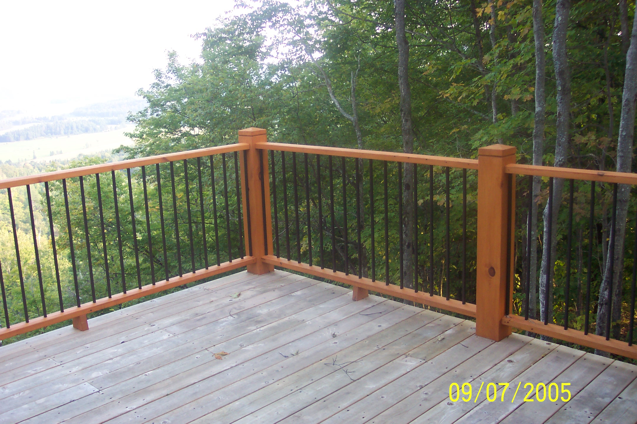 Rampes et balcons
