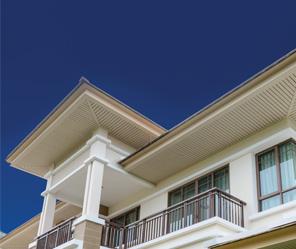Rehaussent la beauté de votre propriété. Protègent la structure sous-jacente de l'avant-toit. Permettent une circulation optimale de l'air dans le grenier. Et assurent une protection accrue contre l'humidité et la moisissure.